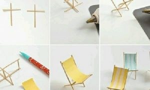Ahşap Çubuklardan Şezlong Yapımı