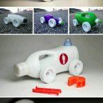 Deterjan Kabından Oyuncak Araba Yapımı