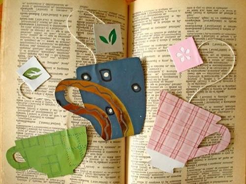 El İşi Kağıdından Kolay Kitap Ayracı Yapımı
