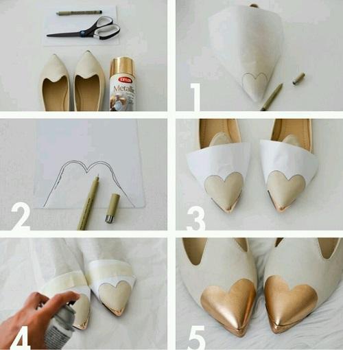 Evde Ayakkabı Yenileme