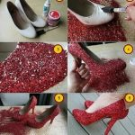 Evde Kolay Ayakkabı Süsleme