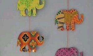 Filli Duvar Süsü Yapımı