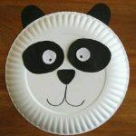 Kağıt Tabaktan Panda Yapımı