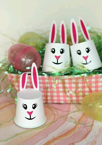 Plastik Bardaktan Nasıl Tavşan Yapılır