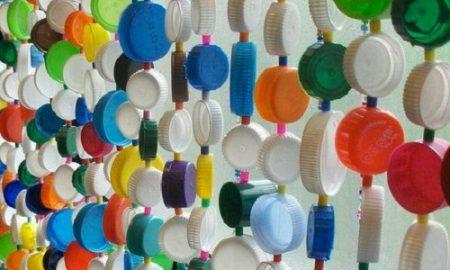 Plastik Şişe Kapağından Kapı Perdesi Yapımı