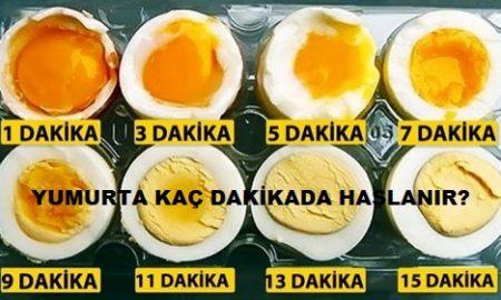 Yumurta Kaç Dakikada Haşlanır