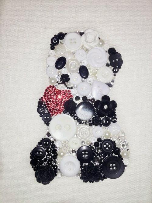 Düğmeden Pandalı Pano Yapımı