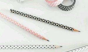 Desenli Bant ile Nasıl Kalem Süslenir