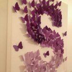 Kelebeklerle Harfli Süsleme Yapımı