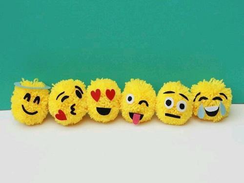 Ponpondan Emoji Yapımı