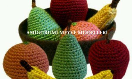 Amigurumi Meyve Modelleri