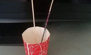 Bulaşık Süngeri ile Dekoratif Süs Yapımı