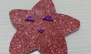 Eva Kağıdından Gülen Yıldız Yapımı