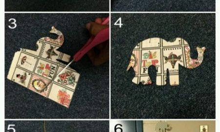Filli Duvar Süsü Yapımı Resimli Anlatım
