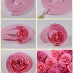 Krapon Kağıdı ile Çiçek Yapımı