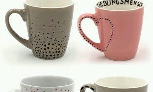 Porselen Kupa Nasıl Süslenir