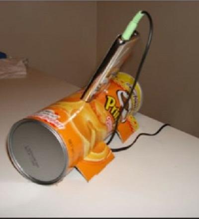 Pringles Kutusundan Şarj Askısı