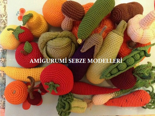 Amigurumi Sebze Modelleri
