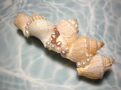 Deniz Kabuğu ile Toka Süsleme-3