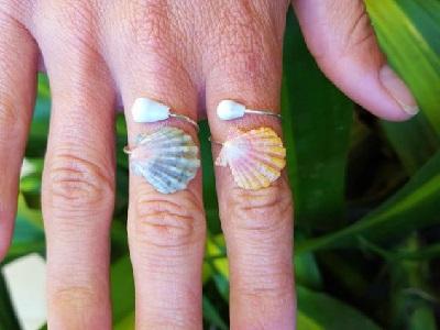 Deniz Kabuklarından Yüzük