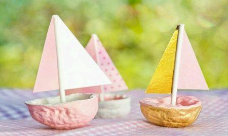 Evde Kolay Oyuncak Yelkenli Yapımı