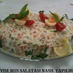 Evde Rus Salatası Nasıl Yapılır