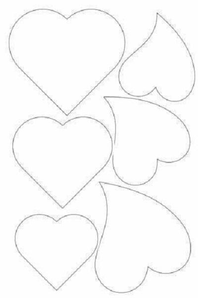 Kalp Şablonları-1