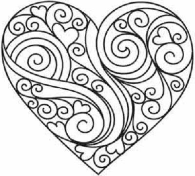 Kalp Şablonları-13