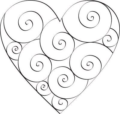 Kalp Şablonları-14