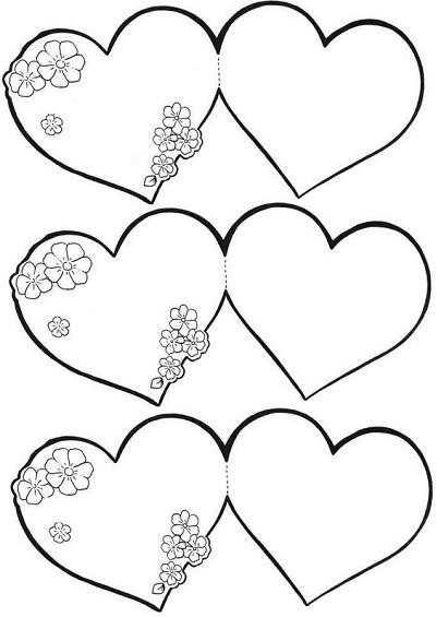 Kalp Şablonları-5