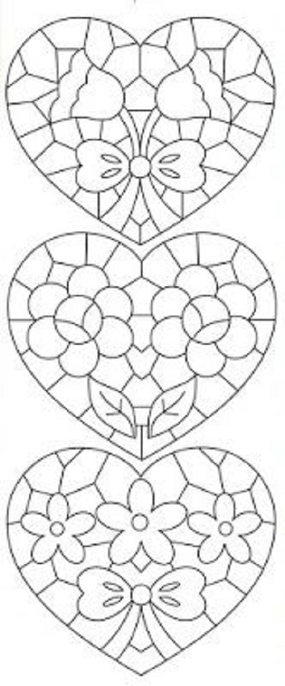 Kalp Şablonları-6