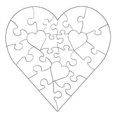 Kalp Şablonları-7