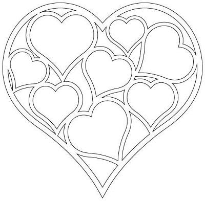 Kalp Şablonları-9