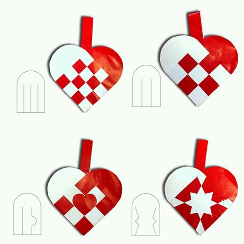 Kartondan Kalpli Süs Yapımı