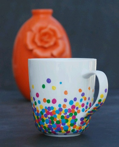 Porselen Kupa Süslemesi-2