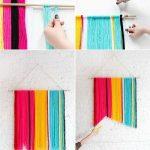 Renkli İplerden Dekoratif Süs Yapımı