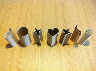 Tuvalet Kağıdı Rulosu ile Şekilli Baskı Yapımı-1