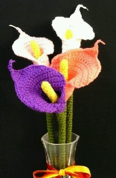 Örgü Çiçek Yapımı-1