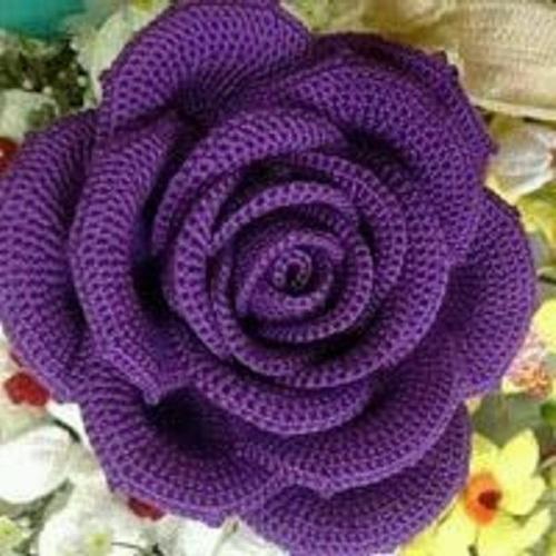 örgü çiçek Yapımı Eğlen Bizle