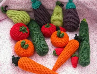 Amigurumi Sebze ve Meyve Modelleri-1