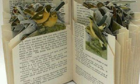 Eski Kitaplardan Dekoratif Süs Yapımı