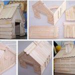 Hobi Çubuklarından Ev Yapımı