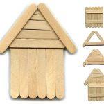Hobi Çubuklarından Süs Ev Yapımı