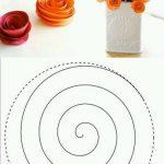 Kağıttan Nasıl Yapay Çiçek Yapılır