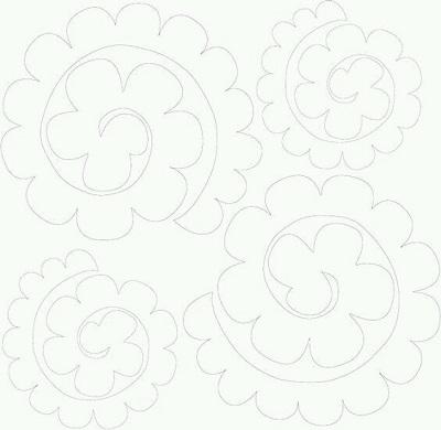 Keçe Çiçek Kalıbı-1