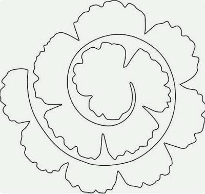 Keçe Çiçek Kalıbı-2