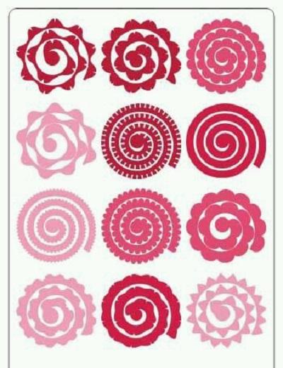 Keçe Çiçek Kalıbı-3