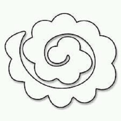 Keçe Çiçek Kalıbı-4