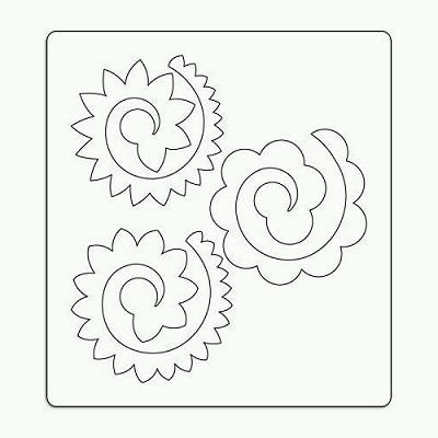 Keçe Çiçek Kalıbı-5