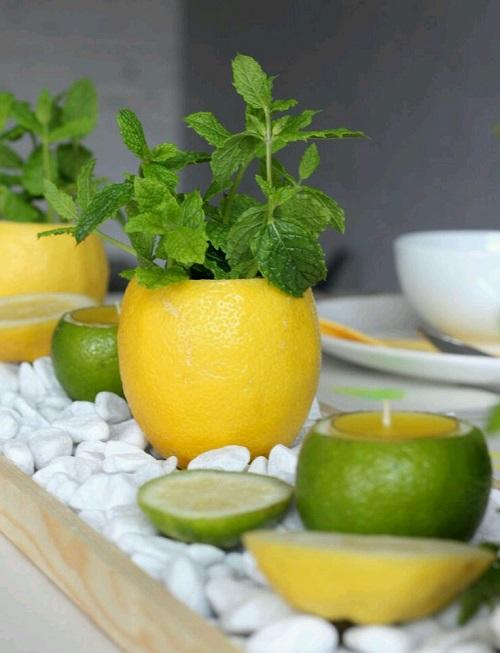 Limondan Nasıl Mumluk Yapılır